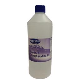Chloorhexidine Blank 1 liter