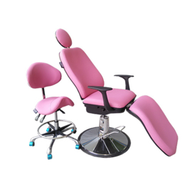 Beverly Hills Make Up Chair Hollywood Kleur: Roze
