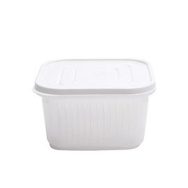 Desinfectie Box Vierkant met Deksel en Rooster