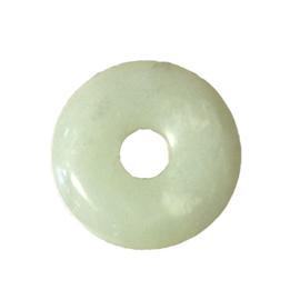 Jade Oogsteen Rond met Gat 5 cm
