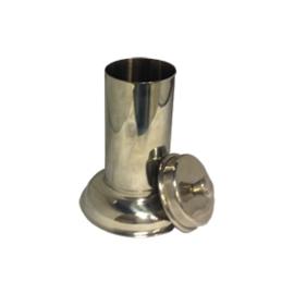 RVS Pot met Deksel Hoog 300 ml
