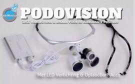 Podovision bril met led verlichting