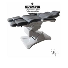 Behandelstoel met gedeelde beendelen Royal Grey Grijs