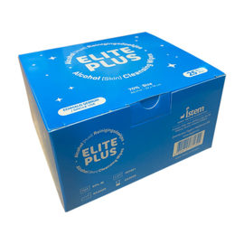 Elite Plus Alcohol Doekjes 25 stuks in Doosje