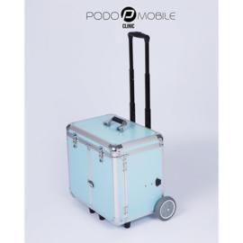 PodoMobile Midi Pedicure Trolley Grey Blue