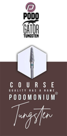 PodoMonium Tungsten Frees Podo Gator Course