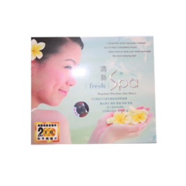 Dubbel cd Spa Muziek Fresh Spa