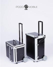 PodoMobile Maxi Pedicure Trolley Brush Black