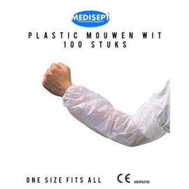 Plastic Mouwen – Pak 100 stuks – One Size