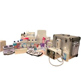 Startpakket Pedicure Incl. Pedicuremotor, Koffer en Ultrasoon