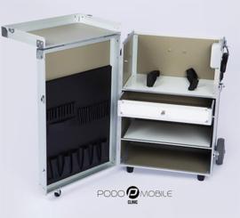 PodoMobile Maxi Pedicure Trolley Pearl White