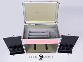 Inlage Vakverdeling Grijs voor PodoMobile Midi Pedicuretrolley