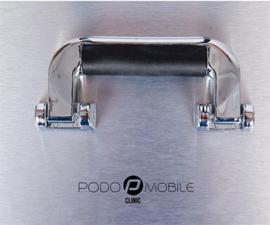 PodoMobile Midi Pedicure Trolley Brush Silver