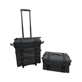 Pedicure Koffer Nylon Soft Touch met Trolley