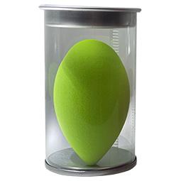 Puff MakeUp Blending Sponge Groot 60 mm per stuk kleur Groen