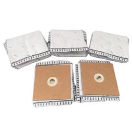 Stofzakjes voor de Podomonium Jimbo – Carbon – per 5 stuks verpakt