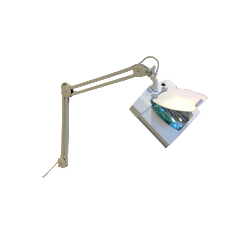 Loeplamp met tafel klem