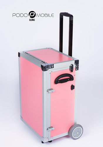 PodoMobile Maxi Pedicure Trolley Sweet Pink