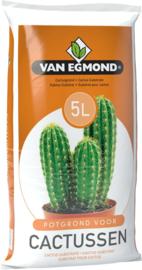5 Liter Cactus en Vetplant Potgrond.