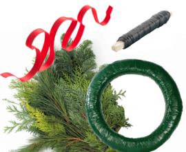 DIY Kerst Krans met instructie video