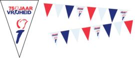 75 Jaar Vrijheid vlaggenlijnen