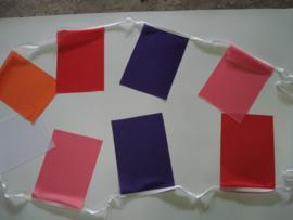 Rechthoekvlaggetjes PVC