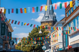 Festival vlaggenlijnen / slingers