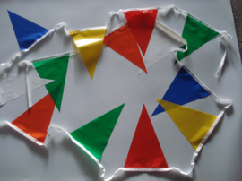 Puntvlaggetjes PVC