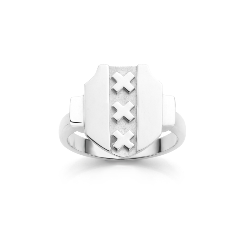 Amsterdam Ring | Coat of Arms | Lovely Lady