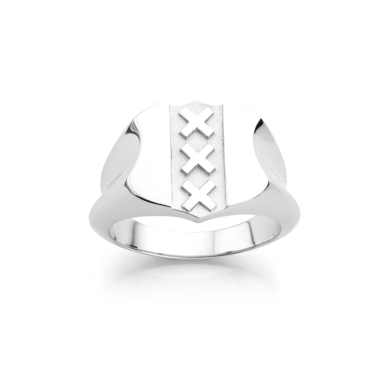 Amsterdam Ring | Coat of Arms | Stylish Sir