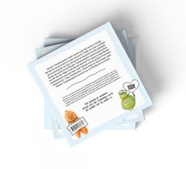 Kromkommer : De Krommies, Meneer Tweebeenpeen - eco - vegan - kinderboek