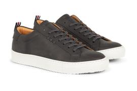 Gentleberg : Sneaker Wouter Grijs – Vegan Leren Schoenen - Duurzaam geproduceerd in Europa