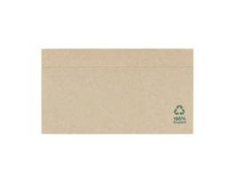 10 x papieren servetten - ongebleekt - gerecycled - eco