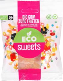 Eco Sweets : Gom Zure Frieten 75gr - Vegan - Biologisch - Plasticvrij