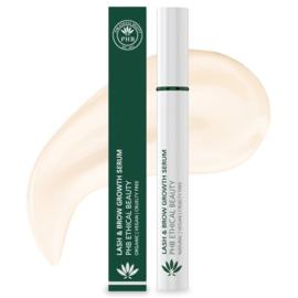 PHB Ethical Beauty : Lash & Brow Growth Serum 9 gram - Vegan - Biologisch - Halal
