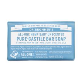 Dr. Bronner's Baby Organic Fair Trade Plastic Free Soapbar 140g