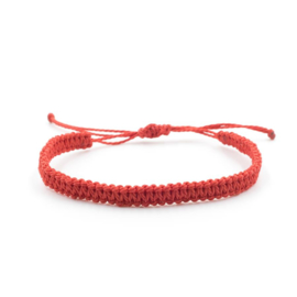 Evig Grön Tree bracelet red
