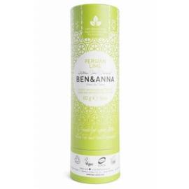 Ben & Anna Persian Lime 60 Gram Organic Vegan Plastic Free deodorant