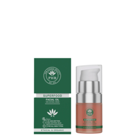 PHB Ethical Beauty : Superfood Facial Oil 20ml - Vegan - Biologisch - Halal