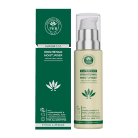 PHB Ethical Beauty : Superfood Brightening Moisturiser 50ml - Vegan - Biologisch - Halal