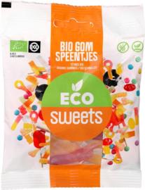 Eco Sweets : Gom Speentjes 75gr - Vegan - Biologisch - Plasticvrij
