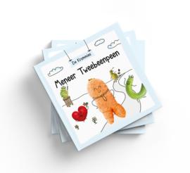 Kromkommer : De Krommies, Meneer Tweebeenpeen eco vegan hardcover kinderboek