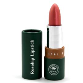 PHB Ethical Beauty : Satin Sheen - Rosehip - lippenstift Petal 10 gram - Vegan - Biologisch - Halal