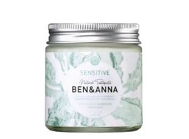 Ben & Anna Sensitive Toothpaste 100ml Natural Vegan Plastic Free