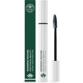 PHB Ethical Beauty : Mesmerise Waterproof Mascara Zwart 9 gram - Vegan - Biologisch - Halal
