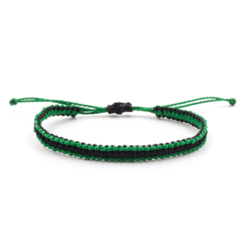Evig Grön Tree bracelet black/green