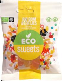Eco Sweets : Gom Beertjes 75gr - Vegan - Biologisch - Plasticvrij