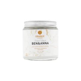 Ben & Anna : Sinaasappel Tandpasta Met Fluoride 100ml - Natuurlijk - Vegan - Plasticvrij