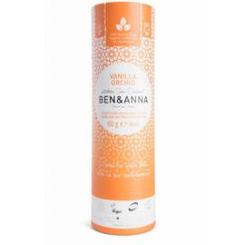 Ben & Anna : Deodorant Vanilla Orchid 60 Gram - Biologisch - Vegan - Plasticvrij