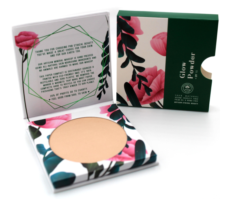 PHB Ethical Beauty : Glow Powder SPF 15 9 gram - Vegan - Biologisch - Halal